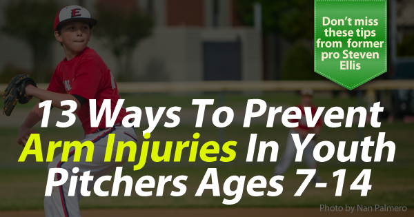 13 ways to prevent pitching arm injuries banner