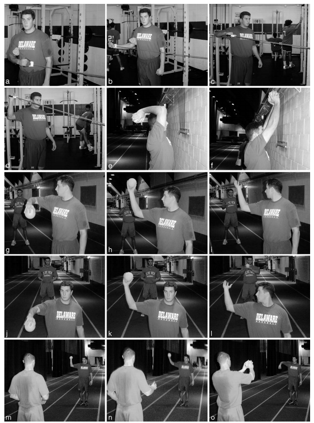 Ballistic six exercises for pitchers image