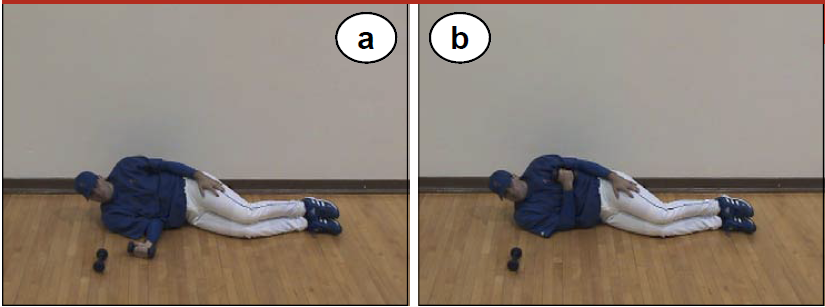 Internal Rotation exercise for pitchers image