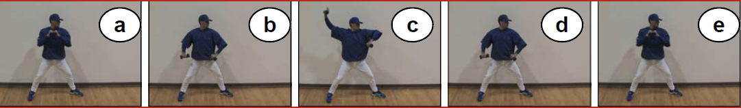 Separation Drill exercise for pitchers image