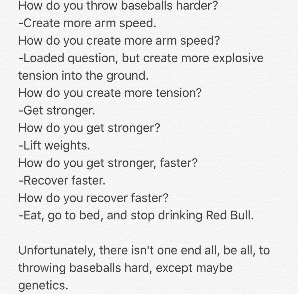 How to increase pitching velocity for baseball image