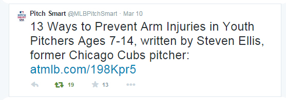 MLB Pitch Smart tweet image