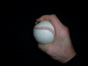 Pitching grip no space curveball image