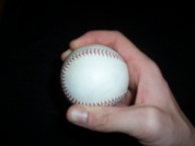 Pitching grip curveball image
