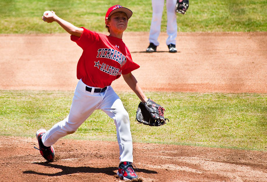 Youth pitcher image