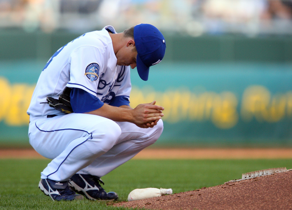 Zack Greinke visualizing success before a game image